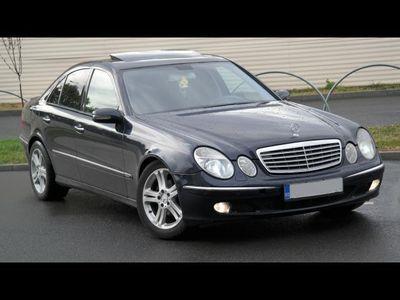 second-hand Mercedes E240 Avantgarde - an 2003, 2.4 (Benzina)