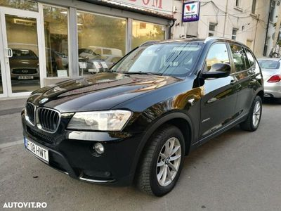 second-hand BMW X3 din 2012