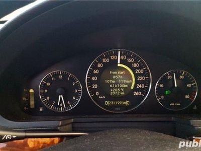 second-hand Mercedes 170 W211 facelift 2008 2.2 cdiCp