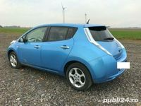 second-hand Nissan Leaf Accenta full electric.