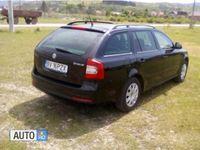 second-hand Skoda Octavia 1600 cmc, diesel, negru, 185000 km