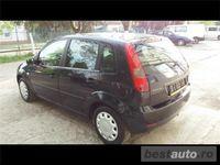 second-hand Ford Fiesta 1400 cmc, diesel, negru, 212000 km, hatchback,