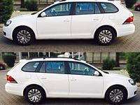 second-hand VW Golf VI /2013 alb 1,6 105 cp
