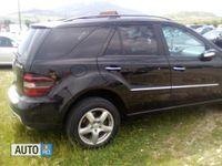 second-hand Mercedes ML320 3000 cmc, diesel, negru, 208000 km,
