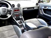 second-hand Audi A3 1,6 TDI piele alcantara
