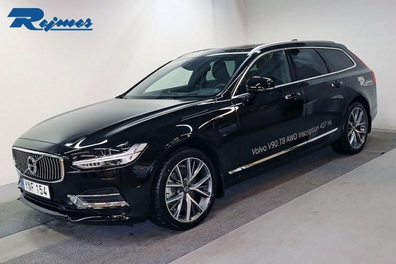 s ld volvo v90 t8 awd inscription begagnad 2018 253 mil. Black Bedroom Furniture Sets. Home Design Ideas