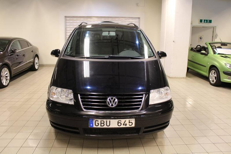 s ld vw sharan 1 8t auto 7sits sve begagnad 2008 mil i sk rholmen. Black Bedroom Furniture Sets. Home Design Ideas