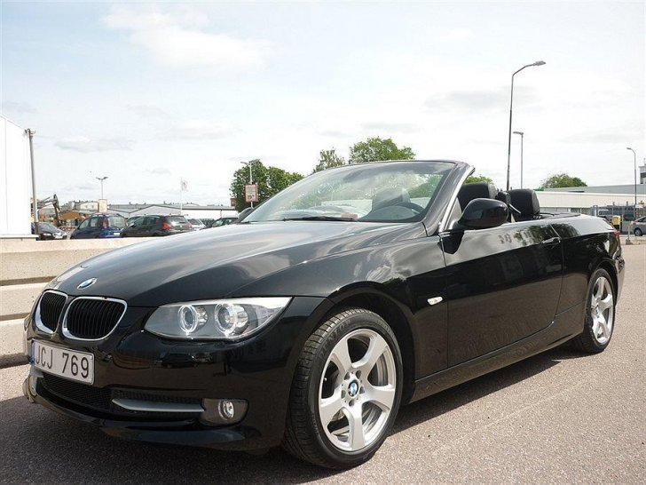 s ld bmw 320 cabriolet i cab svens begagnad 2010 mil i uppsala. Black Bedroom Furniture Sets. Home Design Ideas