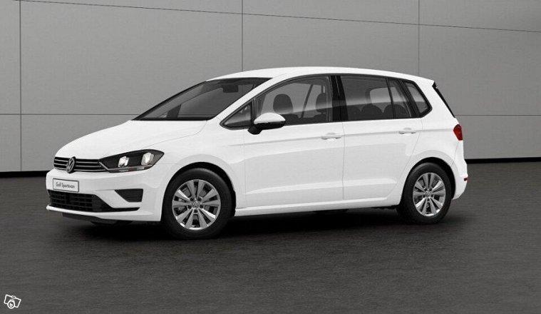 begagnad 2017 vw golf sportsvan 1 2 benzin 189 900 kr v stra g taland autouncle. Black Bedroom Furniture Sets. Home Design Ideas