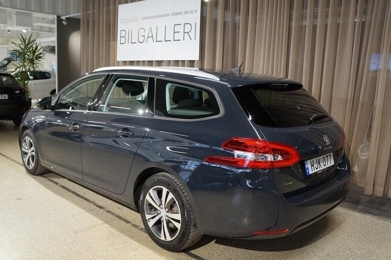 begagnad sw active blue hdi 120 automat nav glastak peugeot 308 2016 km i uppsala. Black Bedroom Furniture Sets. Home Design Ideas