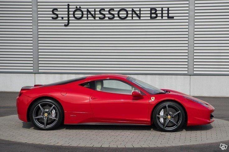 Såld Ferrari 458 Italia DCT / 2100., begagnad 2010, 2.100 ...