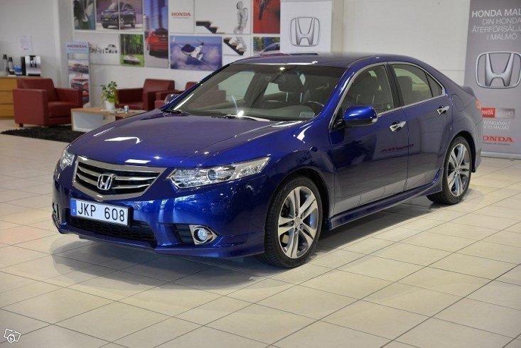 S ld honda accord 2 4 type s 201 hk begagnad 2013 for Honda accord 201