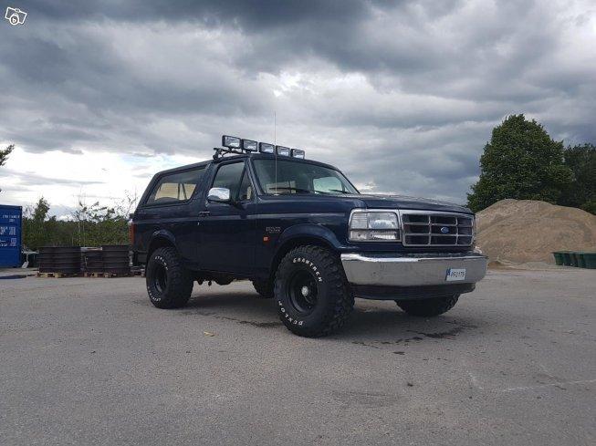 S U00e5ld Ford Bronco