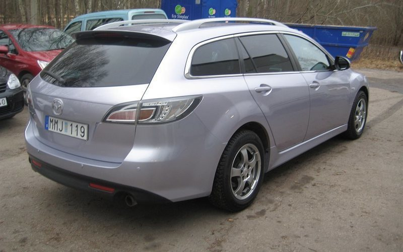 begagnad 2 5 sport 09 mazda 6 2009 km i esl v autouncle. Black Bedroom Furniture Sets. Home Design Ideas
