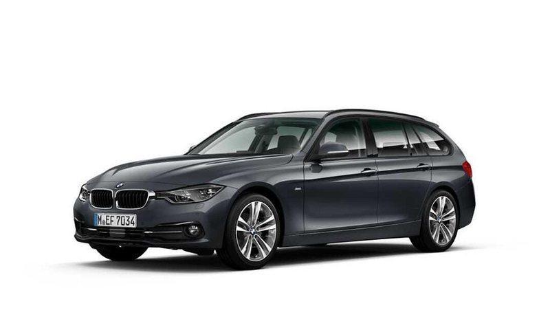 begagnad BMW 320 d xDrive Touring Model Sport Automat, Navigation Kombi