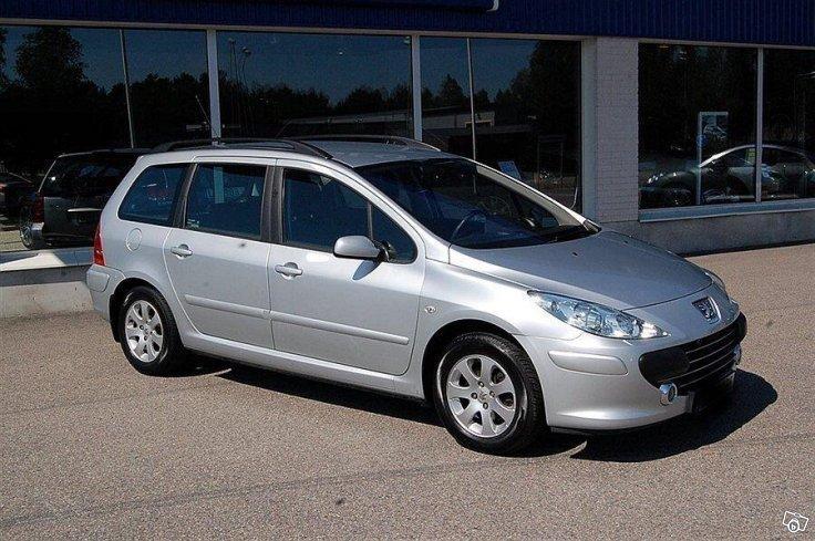 Sald Peugeot 307 1 6hdi Kombi 07 Begagnad 2007 23 000 Mil I Nyn