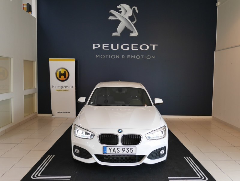 begagnad BMW 120 d xDrive 5dr, F20 (190hk) M-Sport Automat