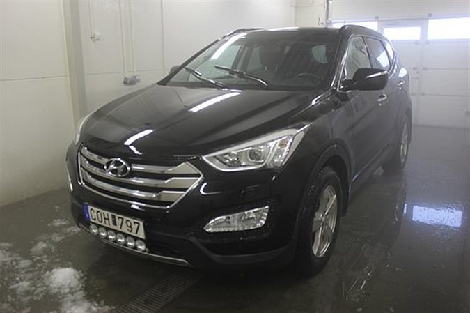 begagnad Hyundai Santa Fe 2,2 CRDI A6 Premium Plus -13