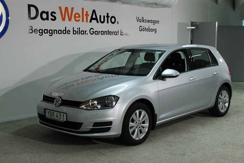s ld vw golf 1 2 tsi 110 2016 kom begagnad 2016 mil i g teborg. Black Bedroom Furniture Sets. Home Design Ideas