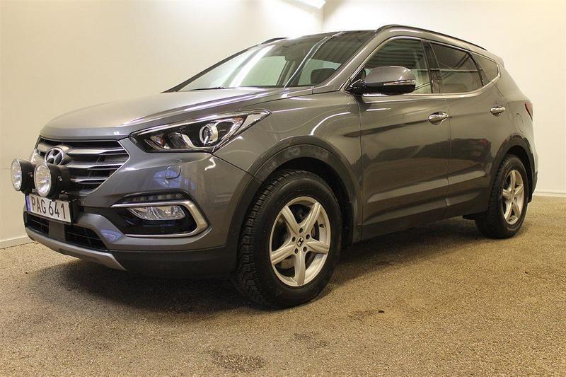 begagnad Hyundai Santa Fe 2.2 CRDi A6 4WD PremuimPlus 5