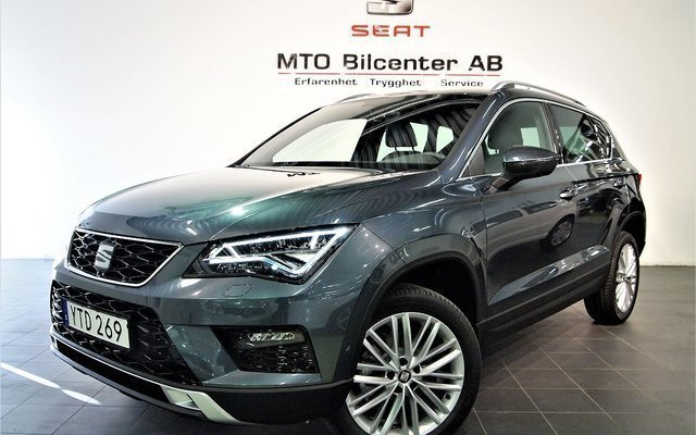 s ld seat ateca 1 4 tsi 150 act ds begagnad 2018 10 mil. Black Bedroom Furniture Sets. Home Design Ideas