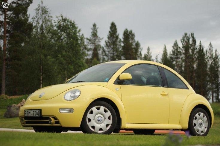 s ld vw beetle 2 0 gul 99 begagnad 1999 mil i. Black Bedroom Furniture Sets. Home Design Ideas