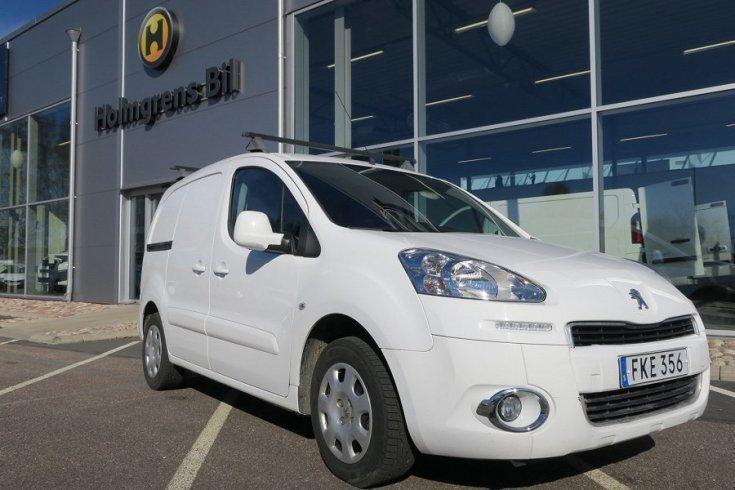 begagnad Peugeot Partner PRO+ MCP aut 90hk *inred*