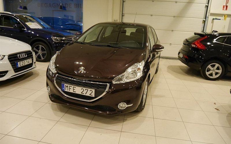 begagnad Peugeot 208 5D ACTIVE 1,4 VTI 95hk