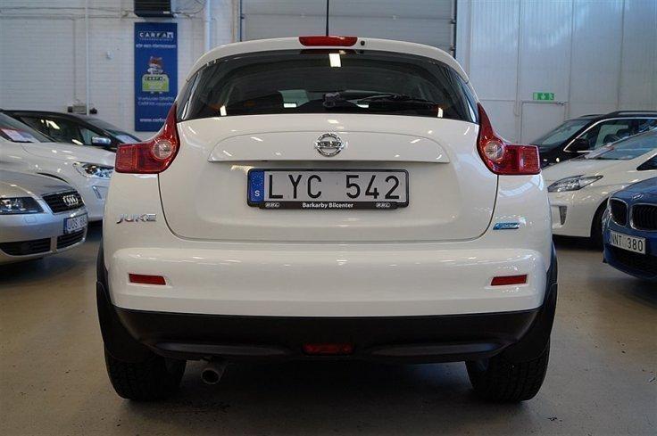 S ld nissan juke 1 6 visia begagnad 2012 mil i for Nissan juke lila