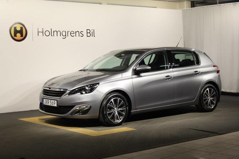begagnad Peugeot 308 5D Allure 1.6 BlueHDi 120 Aut