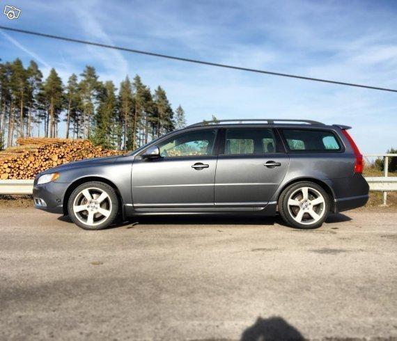 Såld Volvo V70 2,5FT (Aut, Polesta., Begagnad 2009, 12 000