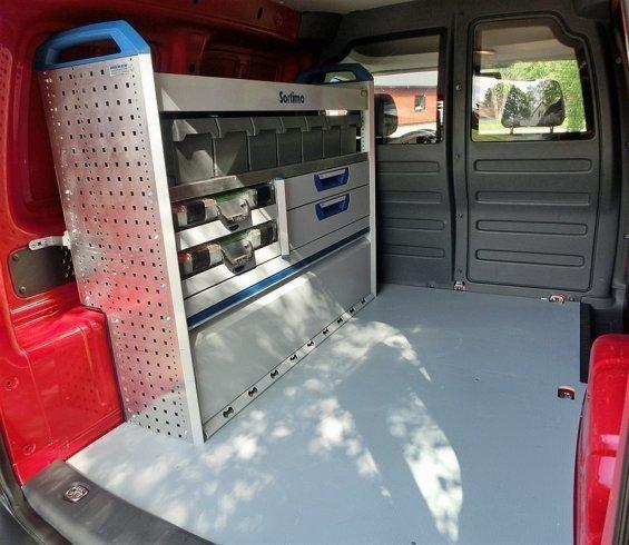 SÃ¥ld VW Caddy EcoFuel m Verkstadsi., begagnad 2012, 3.000 mil i ...