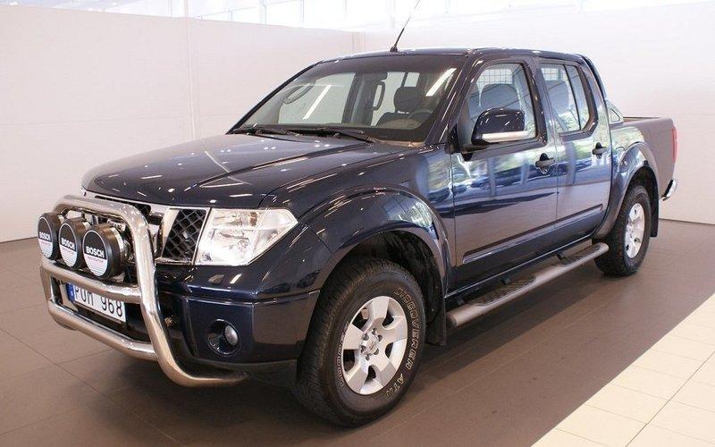 begagnad Nissan Navara 2.5 dCi 4WD