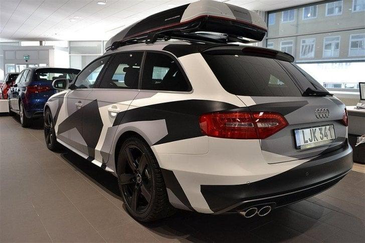 Sald Audi A4 Avant Jon Olsson Camo Begagnad 2013 1 Mil I