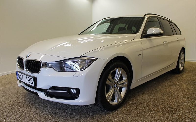 begagnad BMW 320 d Touring -14