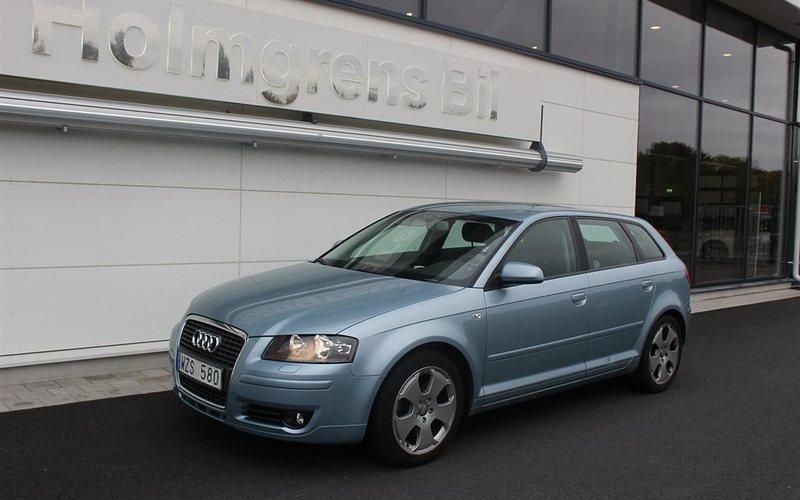 begagnad Audi A3 2006, Halvkombi 99 000 kr