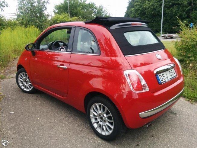 Såld Fiat 500 Cab Höstfynd Billig Begagnad 2010 7 500 Mil I