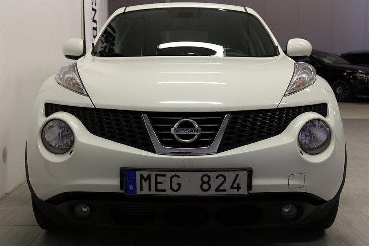 S ld nissan juke 1 5 dci backkamer begagnad 2011 for Nissan juke lila