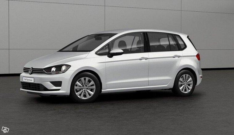 vw golf sportsvan 1 2 benzin 110 hk 2017 askim autouncle. Black Bedroom Furniture Sets. Home Design Ideas