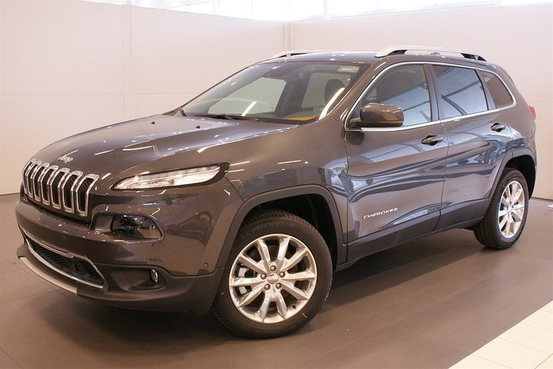 begagnad Jeep Cherokee 2.2D 200hk Limited