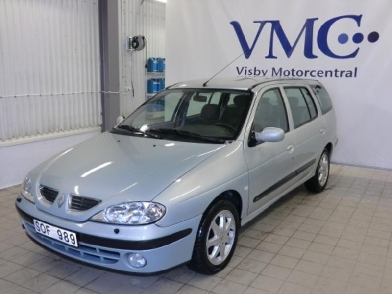 Dodatkowe Såld Renault Mégane 1.6 16V Euroli., begagnad 2001, 12 469 mil i Visby VB56