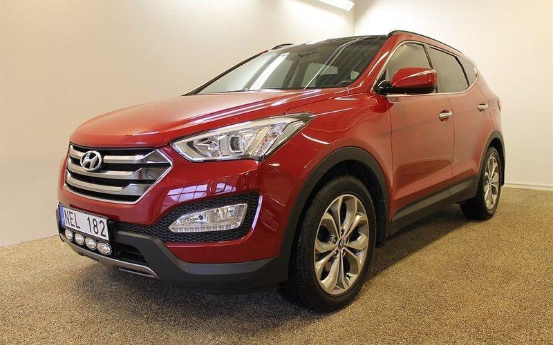 begagnad Hyundai Santa Fe 2.2 CRDi A6 Premium