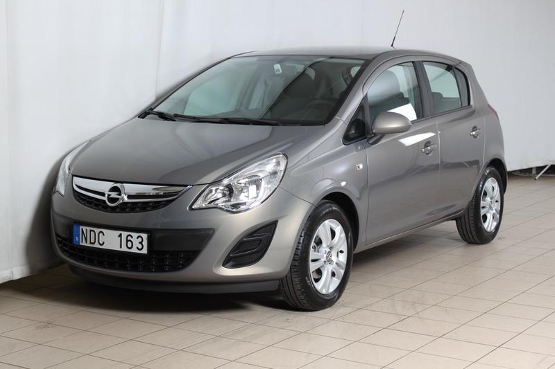 begagnad Opel Corsa 5D 1.2 Enjoy Pluspaket