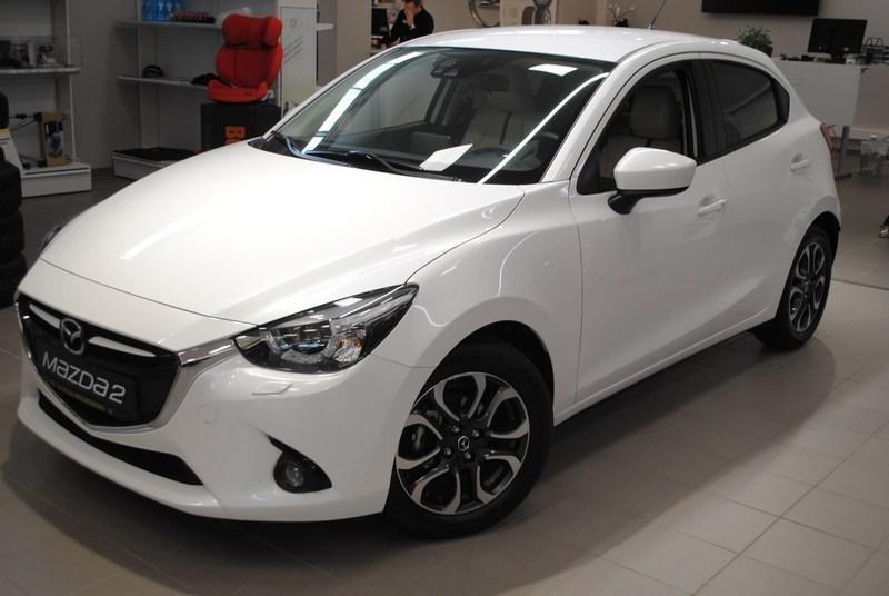 begagnad Mazda 2 1.5 90 hk 5man. Vision Plus-paket