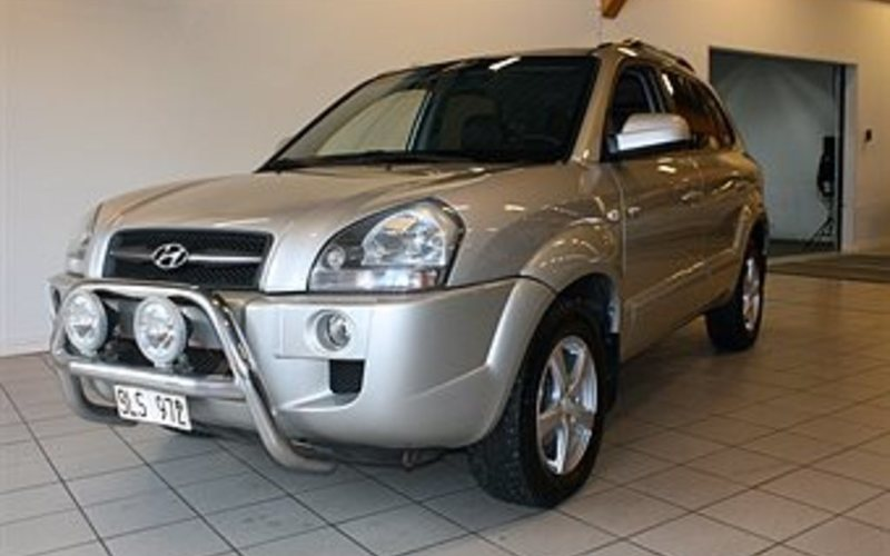 begagnad Hyundai Tucson 2.0 CRDi VGT M6