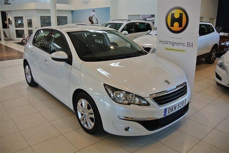 begagnad Peugeot 308 1.6 HDi Active 92hk
