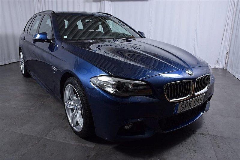 begagnad BMW 520 d xDrive Touring M-Sport Navigation