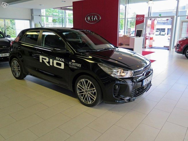 s ld kia rio 1 2 man launch editio begagnad 2017 300. Black Bedroom Furniture Sets. Home Design Ideas