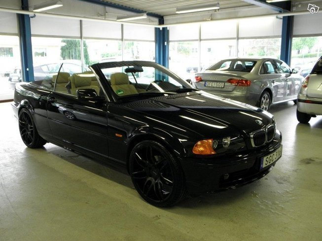 s ld bmw 320 cabriolet e46 cab 170 begagnad 2003 mil i alvesta. Black Bedroom Furniture Sets. Home Design Ideas