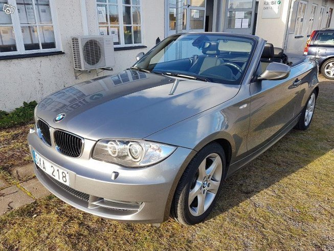 begagnad bmw 120 cabriolet 2010 km i kalmar autouncle. Black Bedroom Furniture Sets. Home Design Ideas